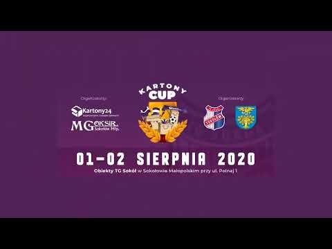 Kartony Cup 2020: Przyjaciele vs. Akademia TG Sokół [TRANSMISJA NA ŻYWO]