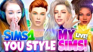 YOU STYLE MY SIMS! 😍 - Sims 4 CAS!