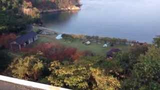 愛媛県今治市見近島自然公園キャンプ場2014/11/22