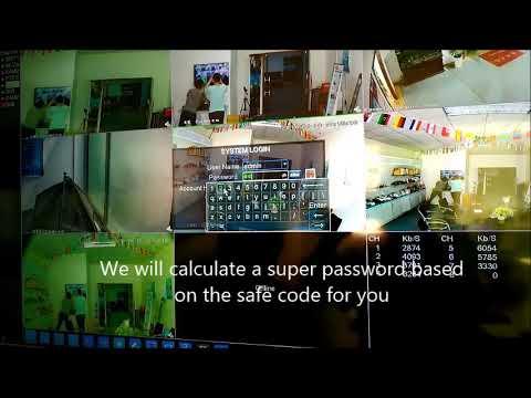 CCTV ANNKE DVR PASSWORD RESET BACKDOOR EXPLAINED - смотреть