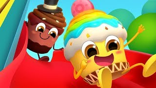 No No Cupcake in Vending Machine | Learn Colors, Ice Cream | Food Song | Kids Songs | BabyBus