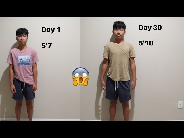 I Stretched For 30 Days To Grow Taller *IT WORKS*