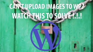 Wordpress Image Uploading : HTTP Error FIXED!