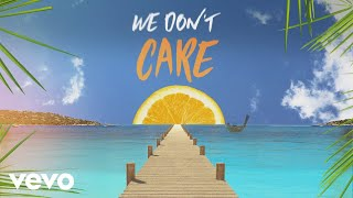 Sigala, The Vamps   We Don't Care (Lyric Video)