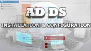 Installation et configuration d'Active Directory