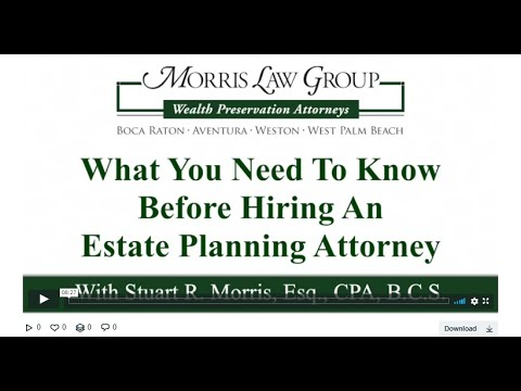 What You Need To Know Before Hiring An Estate Planning Attorney