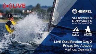LIVE Sailing | Hempel Sailing World Championships | Qualification Day 2