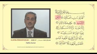 Kuran Öğreniyorum 37 - Fatiha Suresi (Fatih Çollak)