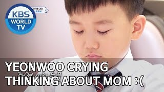 Yeonwoo crying thinking about Mom :( [The Return of Superman/2020.02.08]