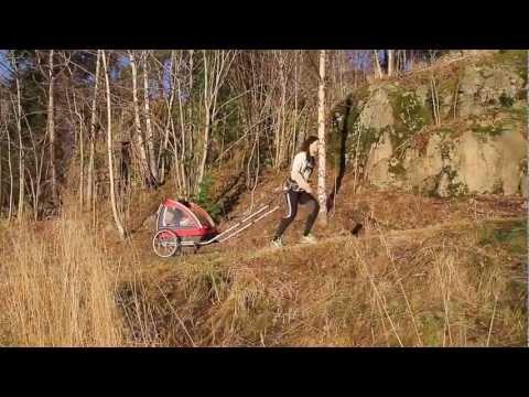 Passeggino Trio  Nordic Cab - Rimorchio Corsa