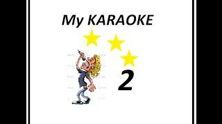 "Karaoke ""2"" (Pano cover) Karel Gott-Být stále mlád"