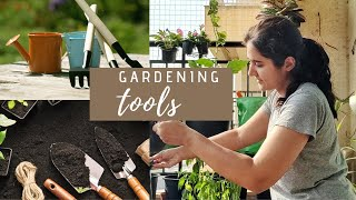 Gardening Tools You MUST Buy &  NEVER Buy| Gardening Basics Part 4
