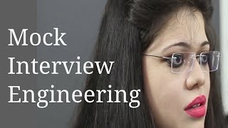 Engineering student personal interview
