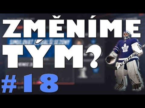 NHL 19 | KOBLIH GOLMANEM #18 | ZMĚNÍME TÝM? | CZ/SK