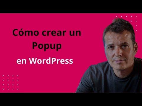 Clase 21: Cómo Crear Un Popup En Wordpress - Curso Wordpress Gratis
