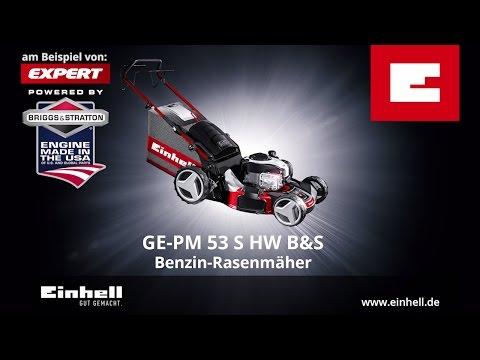 Einhell GE-PM 53 S HW B&S Benzinrasenmäher