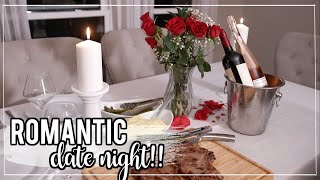 Romantic At Home Date Night Ideas + Tips!