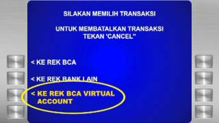 Cara Bayar CEPATnet Via ATM BCA