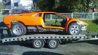 Lamborghini Diablo Restoration and testing