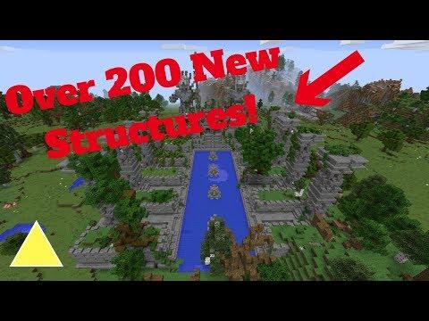 Over 200 New Structures In Minecraft! Minecraft Mods Episode 42