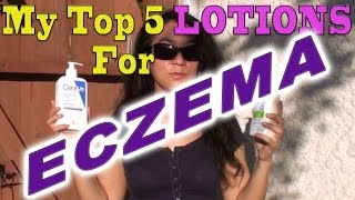My Top 5 Lotions For Eczema With A Secret Ingredient