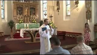 preview picture of video 'Křtiny v Uherčickém kostele 1.7.2012'