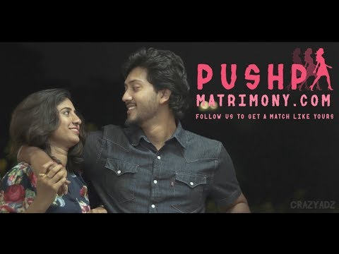 Pushpa Matrimony | Web series | Crazyadz
