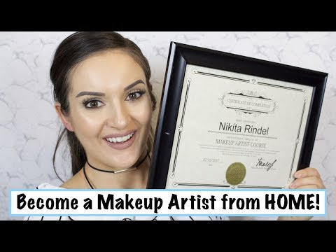 Become a Makeup Artist from HOME!