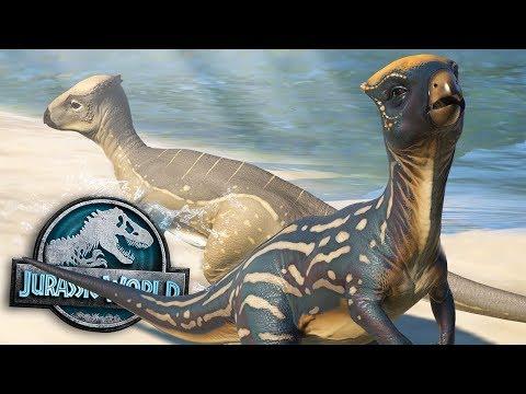 Homalocephale's Beach Paradise! | Atlantis Park | Part 1 Jurassic World Evolution HD