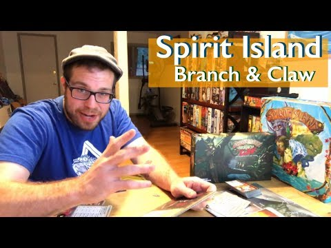 The Cardboard Herald reviews Spirit Island: Branch & Claw