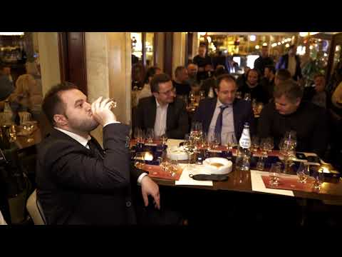 Cigar & Whiskey Pairing AGORA Restaurant Bar Athens 2018 Part1