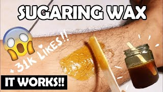 EASY DIY : SUGARING WAX For Body And Facial Hair - THE BEST RECIPE AND TUTORIAL | Hera Hutajulu