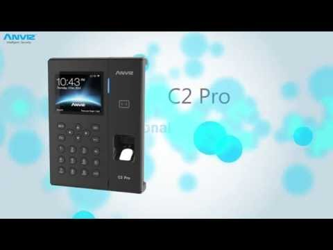 Anviz C2Pro Professional Fingerprint & Card Terminal