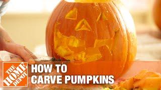 How to Carve a Pumpkin: Jack-o'-Lantern Ideas   The Home Depot