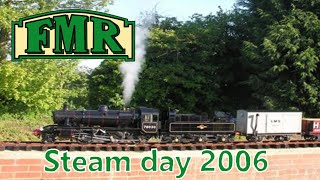 preview picture of video 'Fancott Miniature Railway Steam Day 2006'