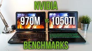 970M vs 1050Ti - Laptop Graphics Comparison Benchmarks