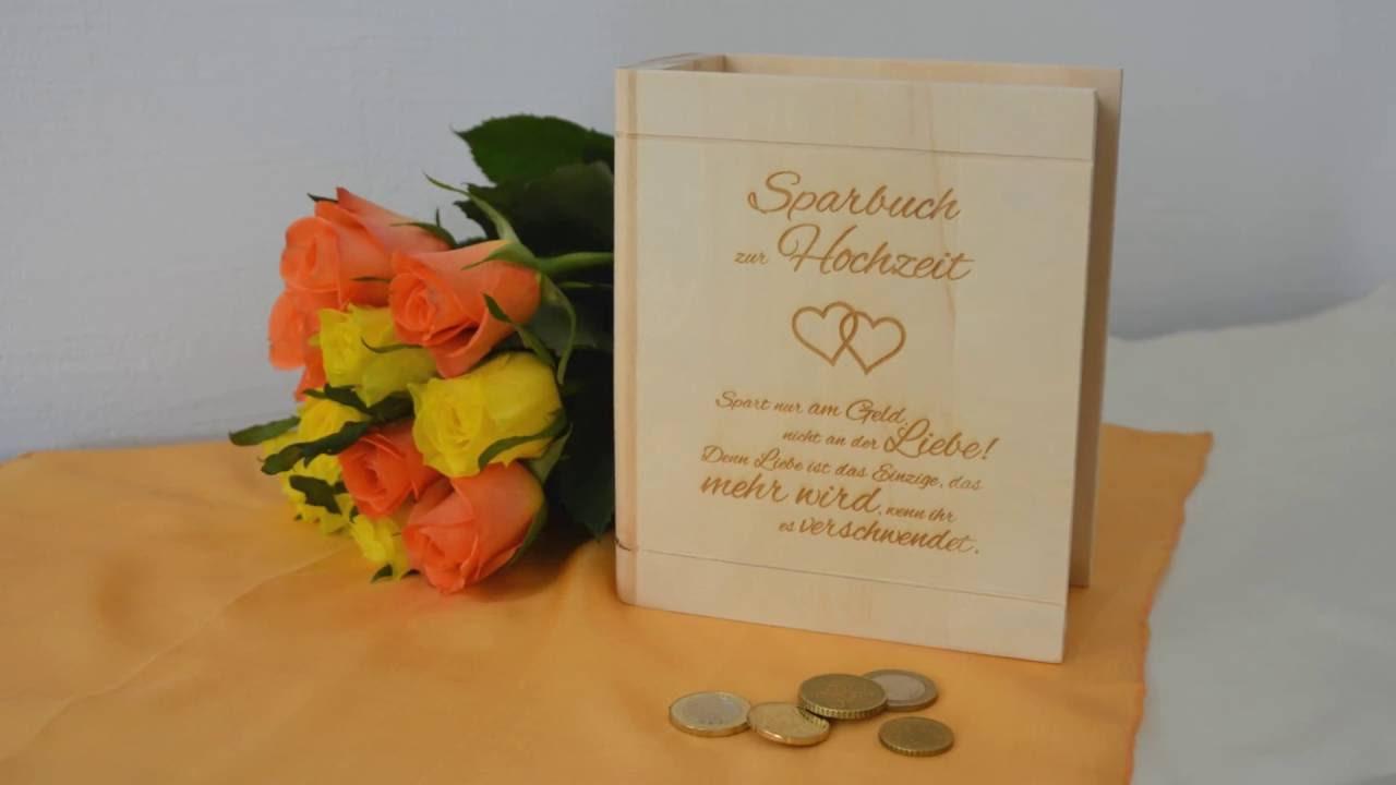 Sparbuch zur Hochzeit - Liebesgedicht