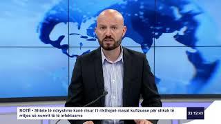 RTK3 Lajmet e orës 23:00 08.07.2020