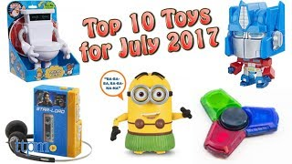 Top 10 Toys in July 2017