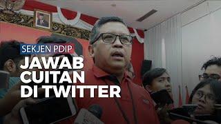 Sekjen PDIP Hasto Kristiyanto Jawab Cuitan Andi Arief di Twitter soal Penangkapan KPK