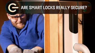 Are smart locks as strong as a traditional lock?   The Gadget Show