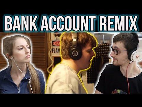 iamtherealak - BANK ACCOUNT (REMIX) REACTION