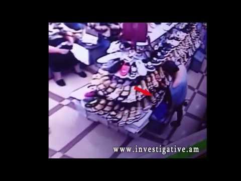 Կոշիկի խանութում գողացել են քաղաքացու դրամապանակը (Տեսանյութ)