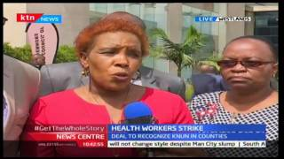 News Centre 14th December 2016 - Governors sign recognition agreement with nurses