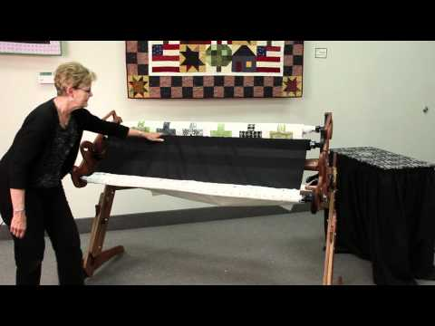 Attaching Fabric to a Grace Hand Quilting Frame