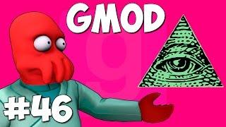 Garry's Mod Смешные моменты (перевод) #46 - Иллюминаты (Gmod)