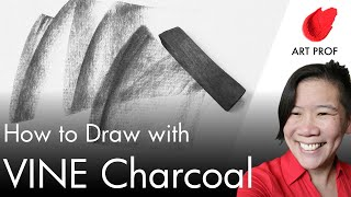 Art Professor Explains Drawing With Vine Charcoal