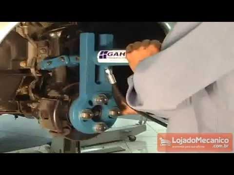 Desempenador Hidráulico Dianteiro - Video
