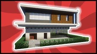 Minecraft Kleines Haus Bauen Deutsch видео Видео - Minecraft altmodische hauser bauen