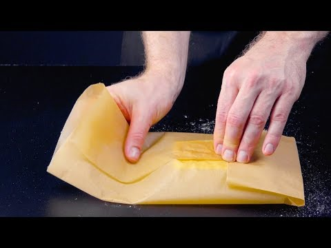 Put The Butter Inside & Neatly Wrap It Up